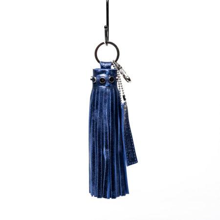 porte-clés oversize cuir