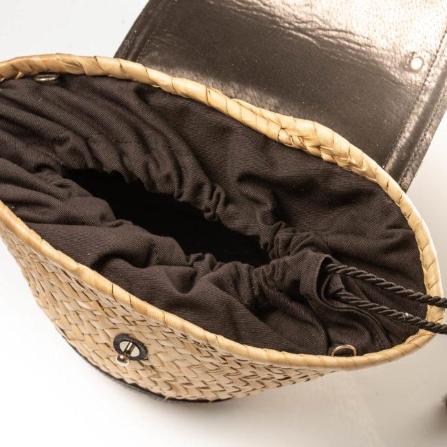 Mini panier Croco Black - Il Etait Un Fil