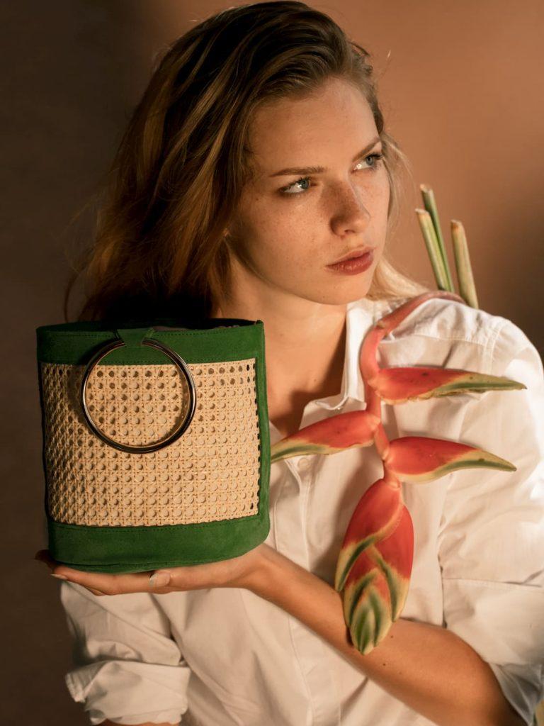 Illustration sac bali amazon avec modèle