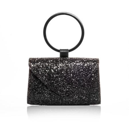 PALMA Sac ceinture Glitter Noir